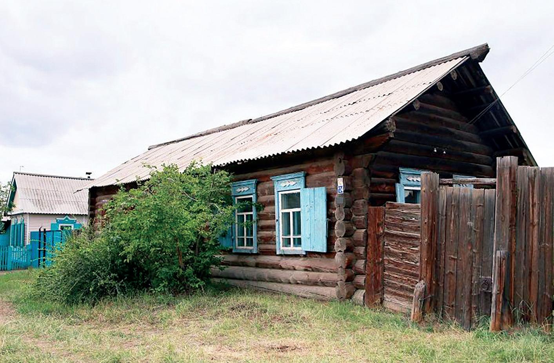 Дом-усадьба Нижний Жирим до реставрации